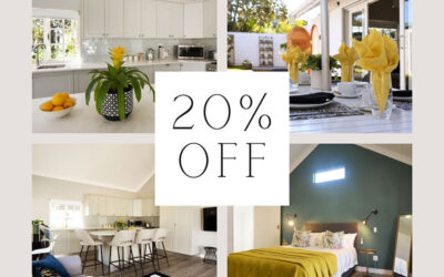 20% off for all winter stays